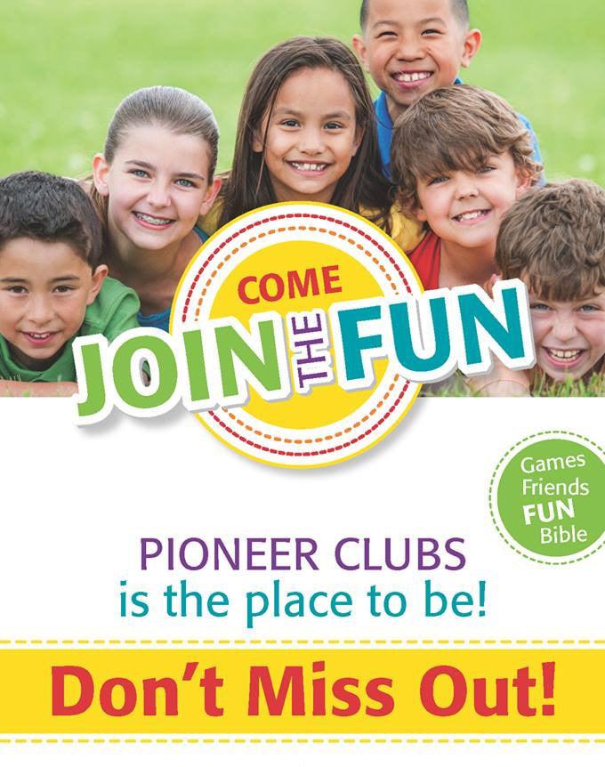 pioneer clubs Blue Ridge Baptist Missionary Chapel